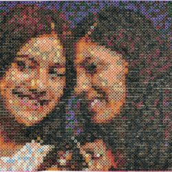 PhotoPearls mosaico con beads